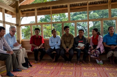 The Special Rapporteur meets with community members in Houaphanh. © Bassam Khawaja 2019