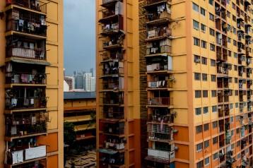 Low income apartments in Kuala Lumpur. © Bassam Khawaja 2019