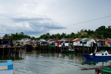 Kampung Numbak in Sabah. © Bassam Khawaja 2019
