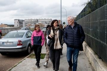 The Special Rapporteur visits Badajoz, Extremadura. © Bassam Khawaja 2020